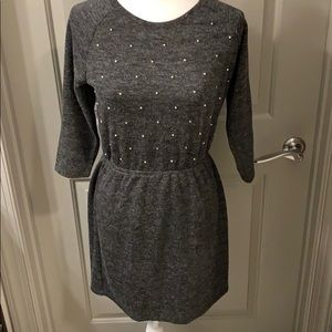 🆕! 🦋NWT LOFT Charcoal dress!